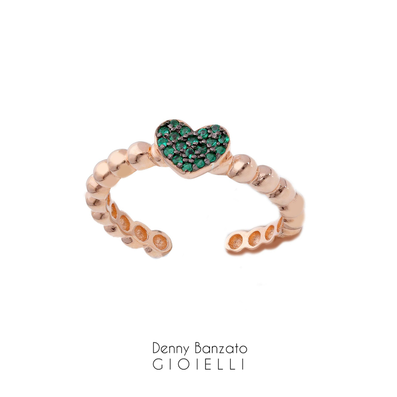 anello-crystal-heart-verde