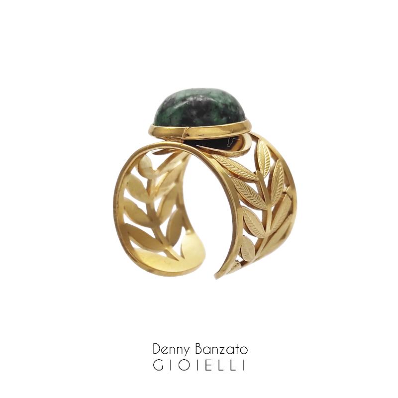 anello-spighe-con-pietra-verde