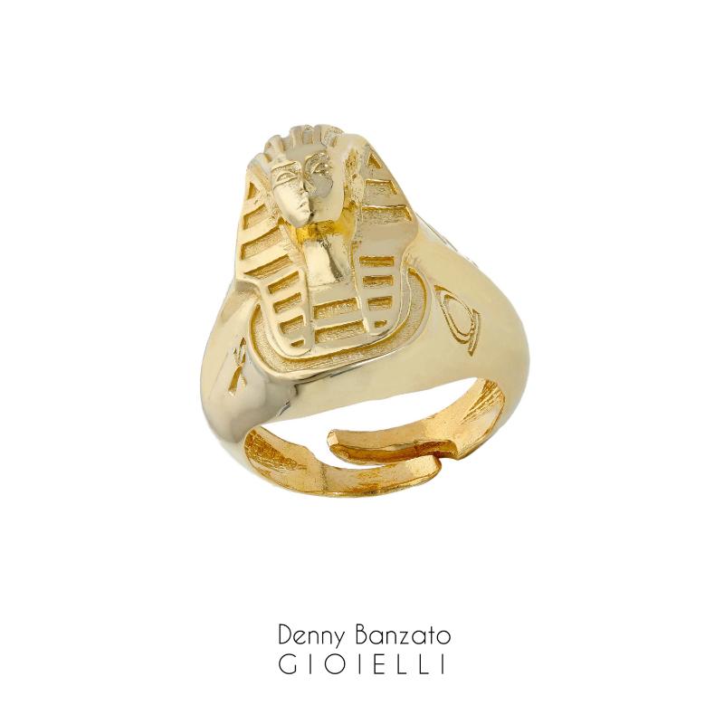 anello-uomo-sfinge-dorato-in-argento925