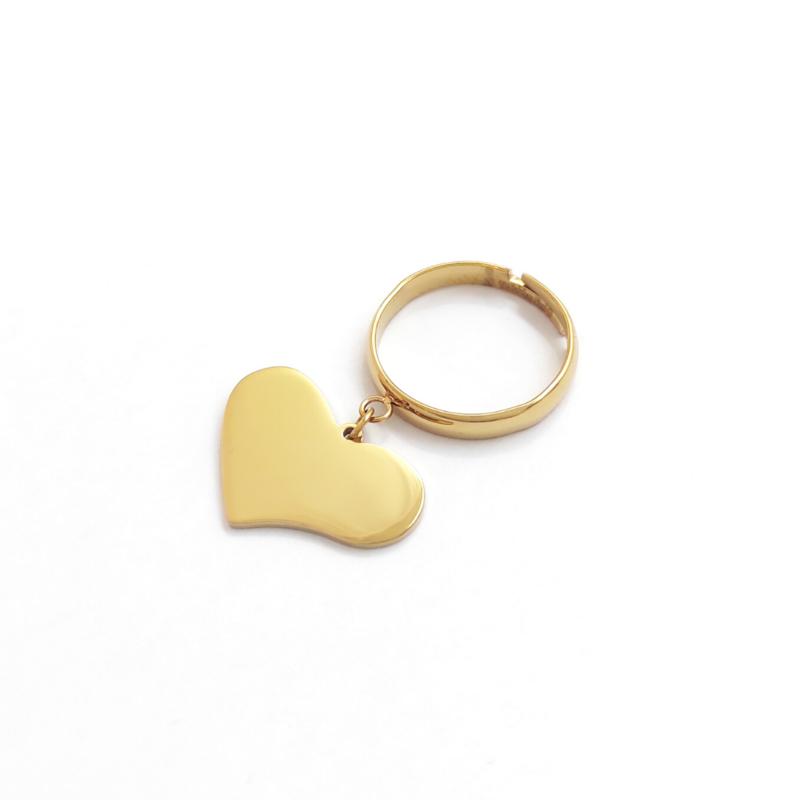 anello-cuore-pendente-dorato